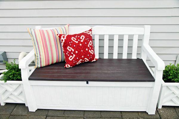 Holzbank selber bauen – gemütliche Sitzecke für Ihren Garten -