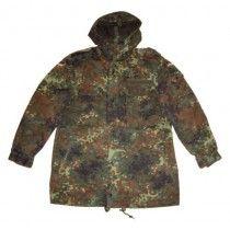 German Army Flecktarn Camouflage Parka