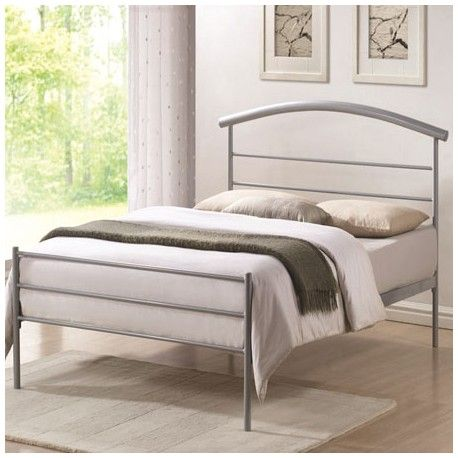 Best The Brennington 3Ft Silver Bed Frame Has Clean Lines An 400 x 300