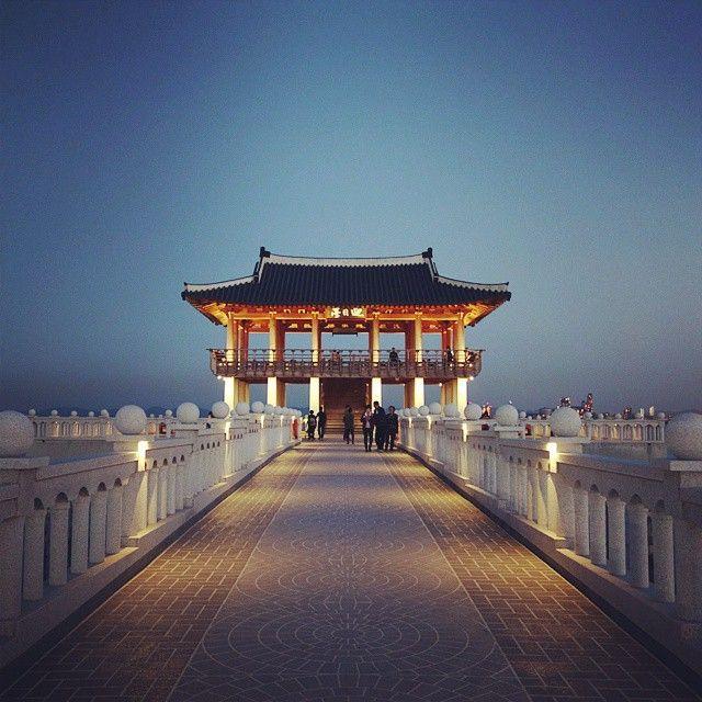 포항 영일대 해수욕장 Pohang Yeongildae Beach in KOREA