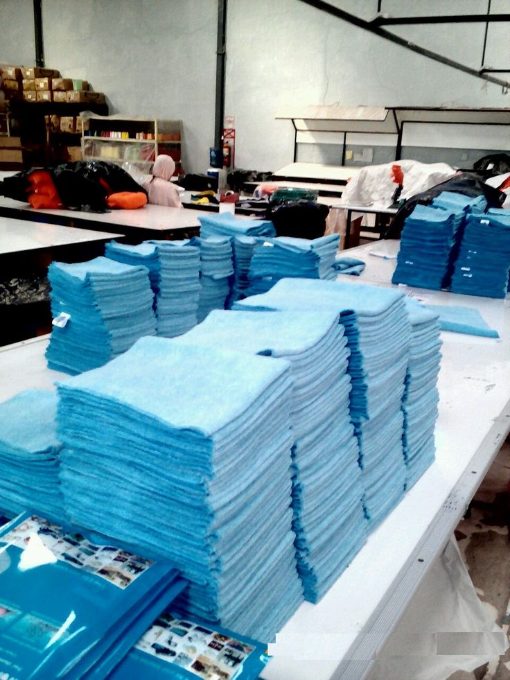 Mipacko Microfiber Premium Cloth  on the proses...