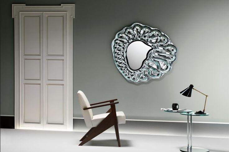 Design Spiegel CALDEIRA | FIAM | Italian design |GlazenDesignTafel.nl | Design by Xavier Lust | Interior design | vidre glastoepassingen, Leiden