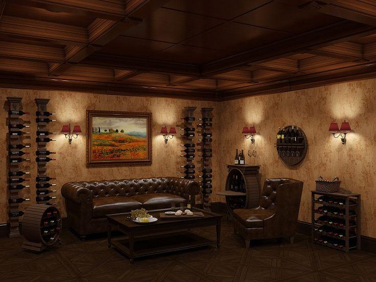 #Бочки бары, #стеллажи, #полки для #хранения #вина в интерьере производитель мебели на заказ Деметра Вудмарк.