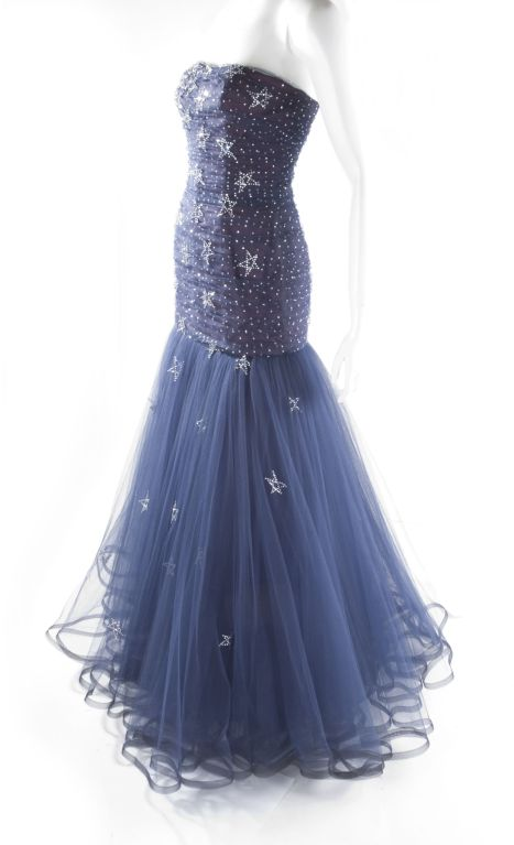 1986 Murray Arbeid 'Princess Diana' Tulle Gown image 6