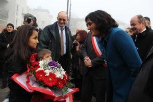 Etape à Val-de-Reuil pour la secrétaire d'état à la Politique de la ville