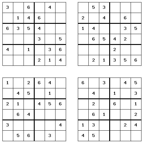 Sly image throughout free printable sudoku 4 per page