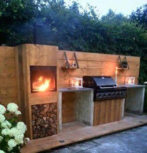 17 meilleures id es propos de barbecue en beton sur for Barbecue beton cellulaire exterieur