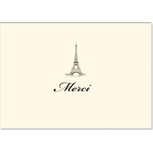 Eiffel Tower Thank-you notes by Peter Piper Press $8.99 at Amazon