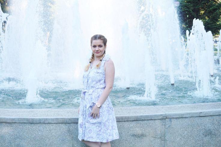 Rochie sarafan din Second-Hand - lorys blog