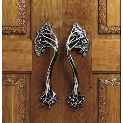 Tree door handles; Martin Pierce.  I like trees.  They do lend themselves to handles very nicely.