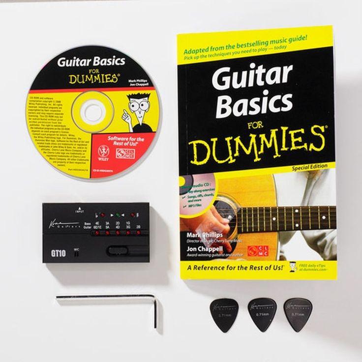 NEW! Acoustic Guitar for Dummies Bundle: Kona Accessories CD Instructional Book  #Kona