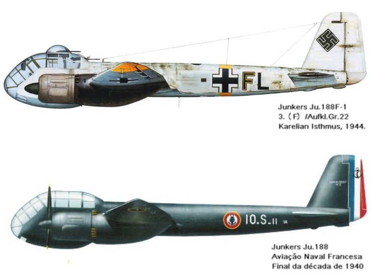 . . . O Junkers Ju 188 foi uma versão melhorada do Junkers Ju 88, um dos pilares da Luftwaffe durante a segunda guerra mundial....