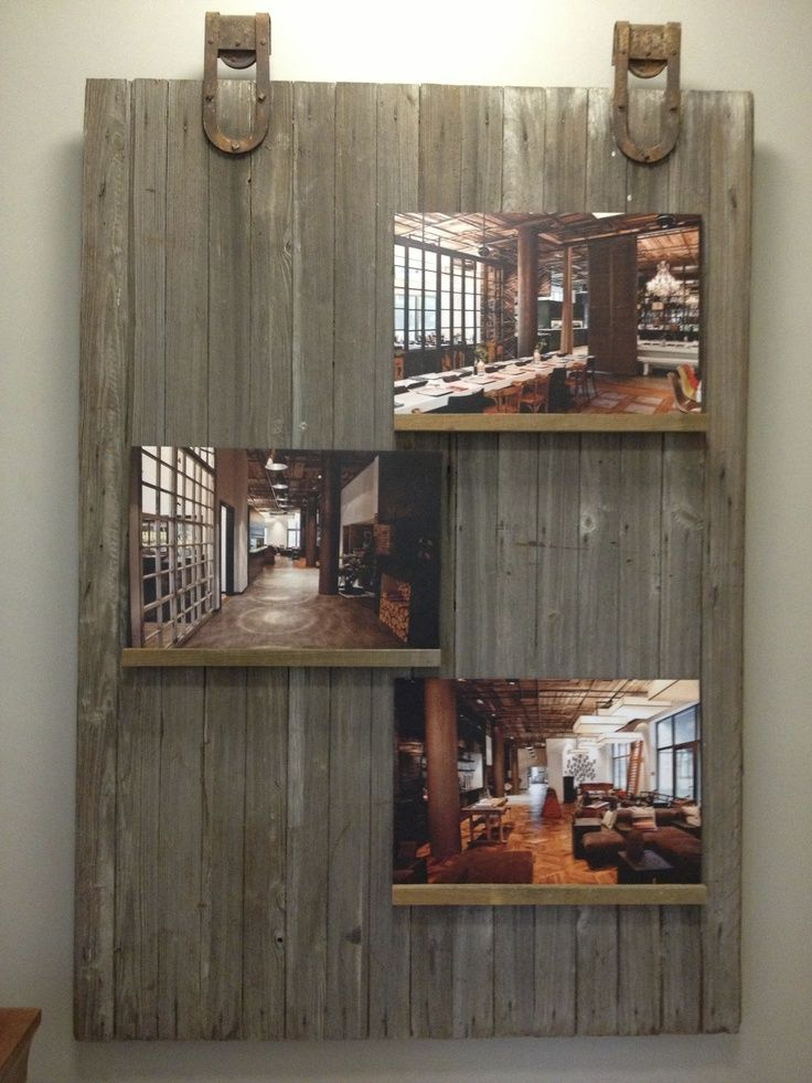 Reclaimed Furniture From Barn Boards | Reclaimed Barn Door Finds New Use
