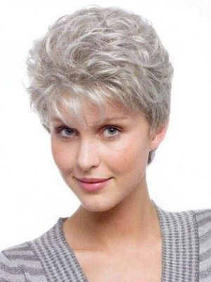 images for short haircuts for grey hair - Google Search