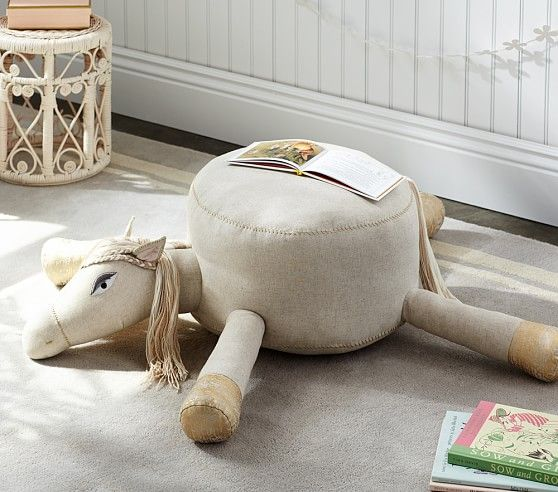 Horse Poof Pottery Barn Kids Mabrie Pinterest