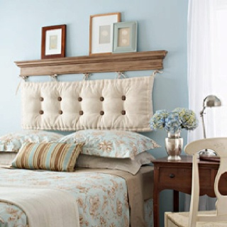 92 best images about wir polster on pinterest floor for Faux headboard ideas