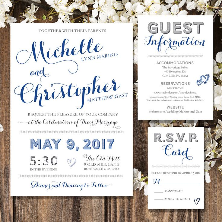 Best Rustic Wedding Invitations Etsy Images - Styles & Ideas 2018 ...