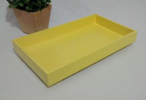 Mini Bandeja Organizadora Amarela