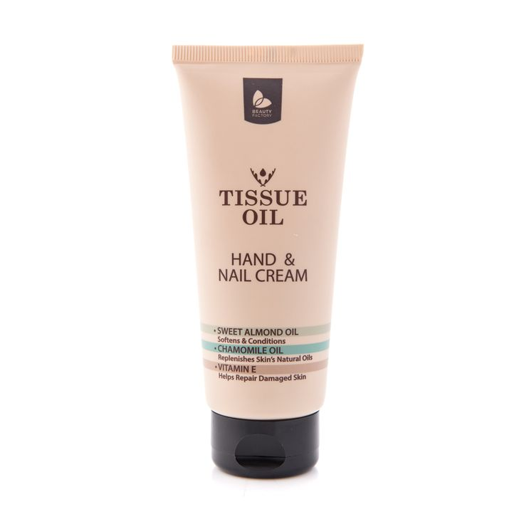 Tissue Oil Hand & Nail Cream 75ml - Beauty Factory | GoodiesHub.com