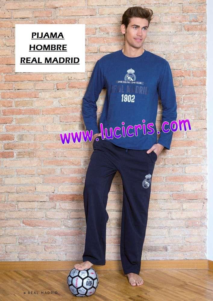 Pijama Hombre REAL MADRID 1902 Azul 2017-2018