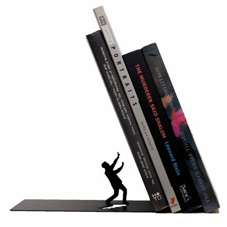 Falling Bookend by Artori