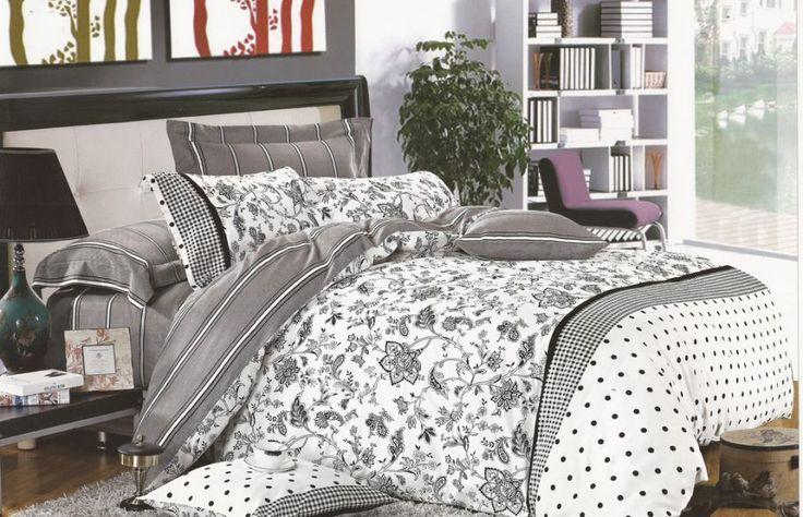 Спално бельо от памучен сатен Фернанда