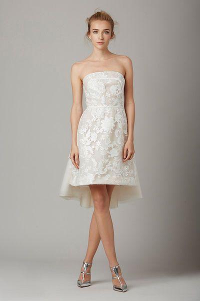 Vestidos de novia cortos: diseños que te enamorarán. ¡Elige el tuyo! Image: 29