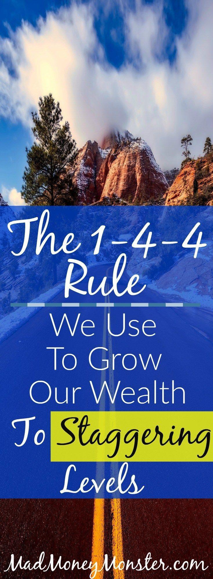 Grow Wealth | How To Grow Wealth | Build Wealth | Save Money via @MadMoneyMonster