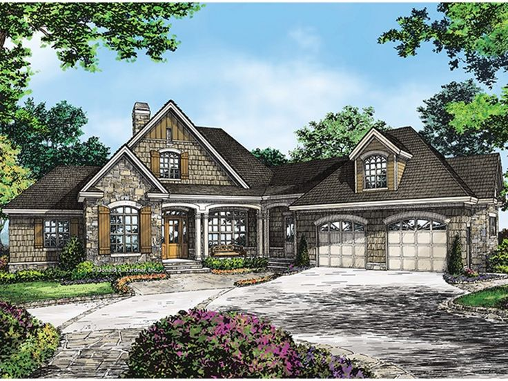 Best 25 french country house plans ideas on pinterest for Large french country house plans