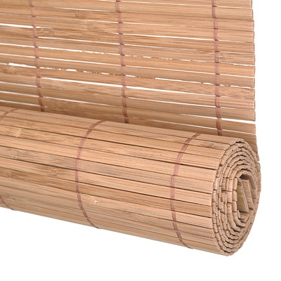 This Bamboo Slat Blind would be great to hang up and shield the patio from the strong afternoon sun.