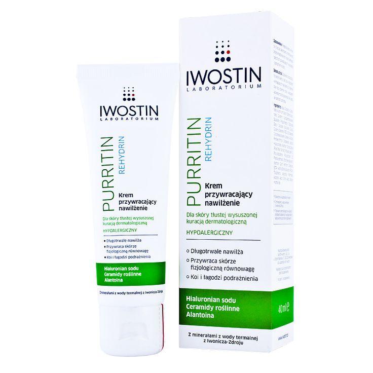 działaniem niepożądanym przy retinoidach jest nadmierne przesuszenie skóry.Co zastosować? Iwostin Purritin Rehydrin – krem przywracający nawilżenie i kosztuje ok.25zł/75ml