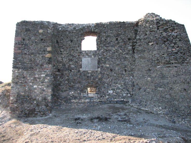 Csobánci vár oldalfala
