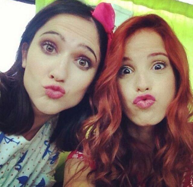 Fran y Cami Lodo y Cande Violetta3
