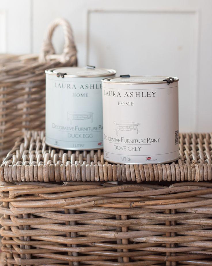 Painted Wicker Storage Baskets2