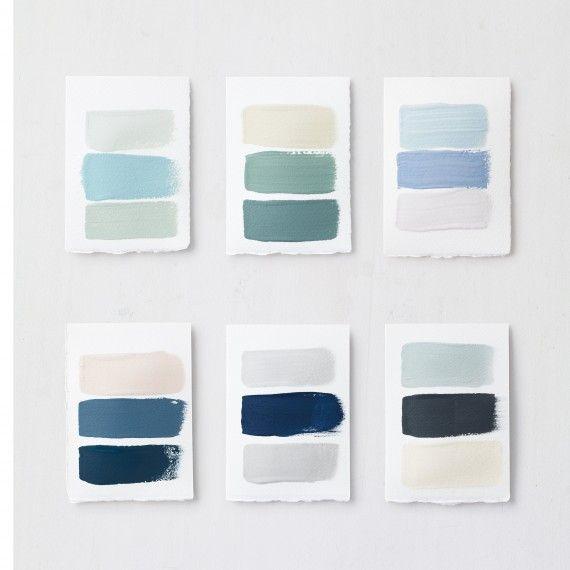 Living room colour schemes from Martha Stewart