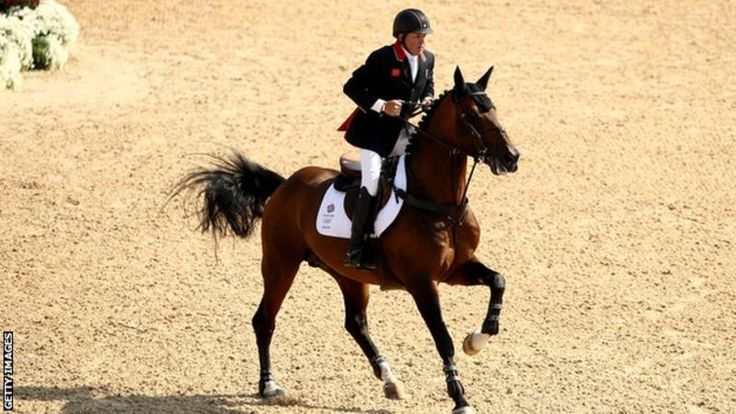 Nick Skelton and Big Star - Skelton was competing at his seventh Olympic Games in Rio - 16 years after breaking his neck in two places