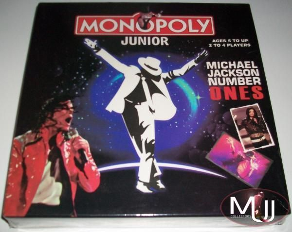 "Monopoly Junior ""Michael Jackson Number Ones"" -lautapeli"