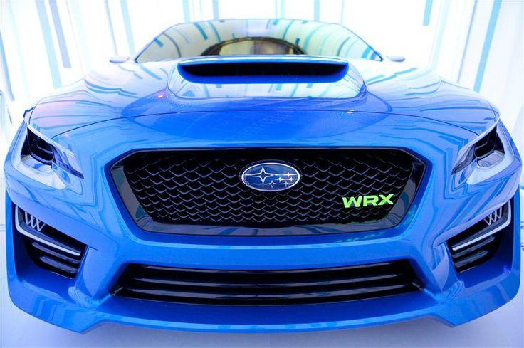 2013 Subaru WRX concept car