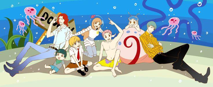 spongebob anime - Google Search