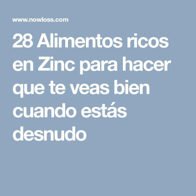28 Alimentos ricos en Zinc para hacer que te veas bien cuando estás desnudo