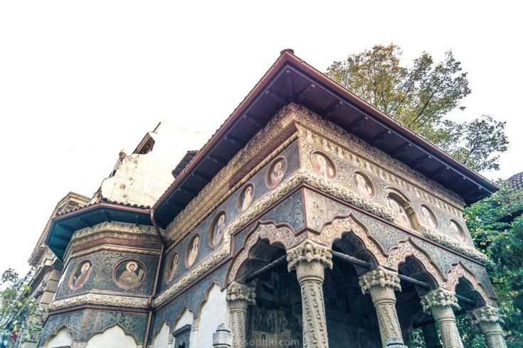 Stavropoleos Monastery: Bucharest city centre