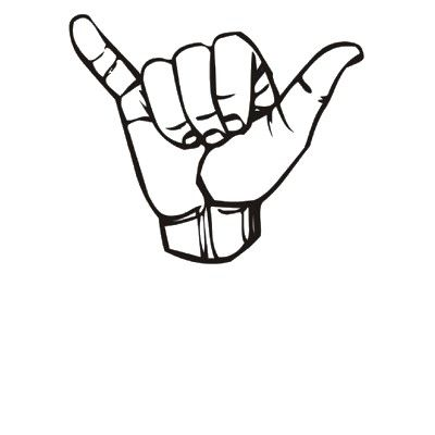 hang loose want a tattoo like this on my back