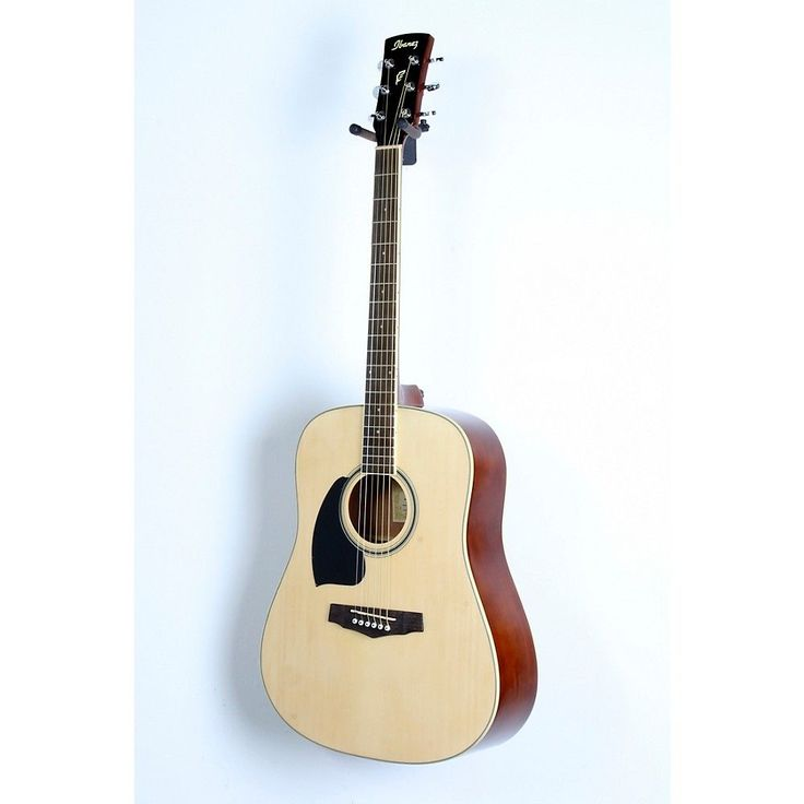 Ibanez Performance Series PF15 Left Handed Dreadnought Acoustic Guitar Natural 888366033401