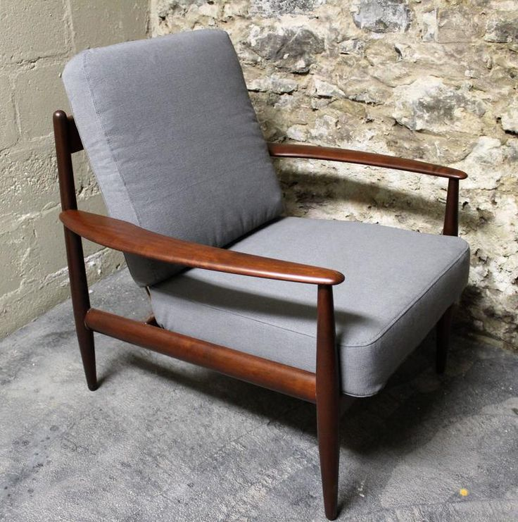 grete jalk for france and daverkosen teak lounge chair 50 39 s 60 39 s design pinterest teak. Black Bedroom Furniture Sets. Home Design Ideas