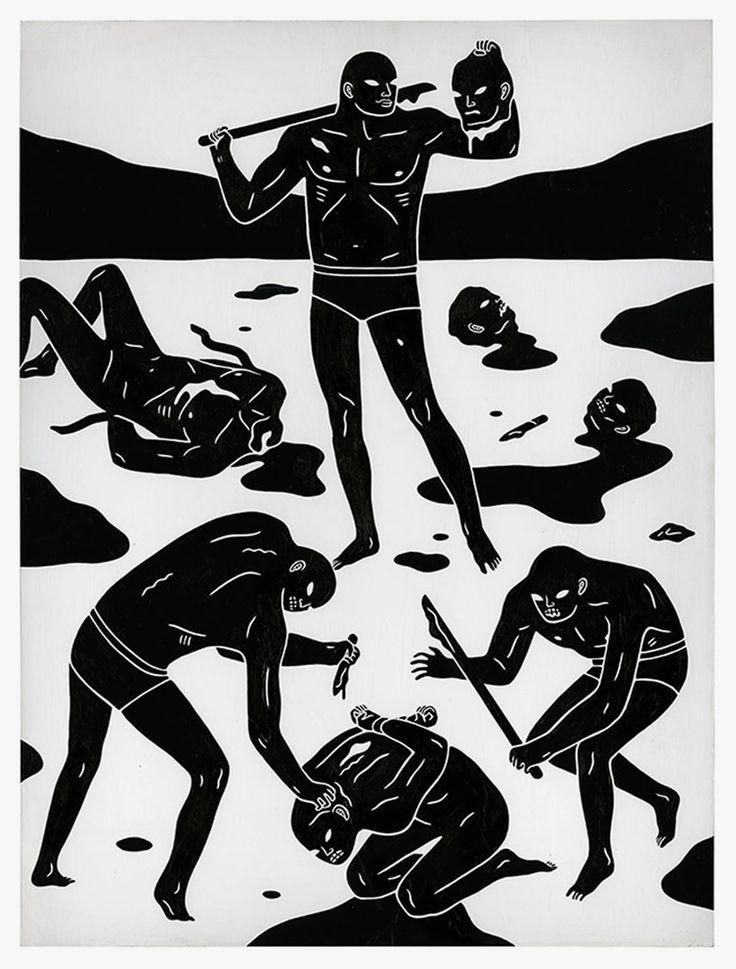 Cleon Peterson — End of Days  http://www.weheart.co.uk/2014/03/25/cleon-peterson-end-of-days/