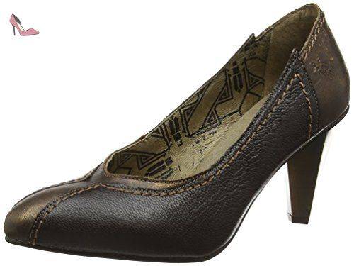 Fly London Alm748fly, Escarpins Femme, Marron (Bronze/Chocolate 004), 41 EU - Chaussures fly london (*Partner-Link)