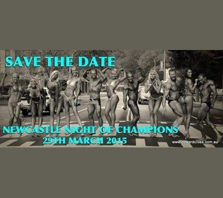 Image of 2015 NABBA Night of Champions Poster