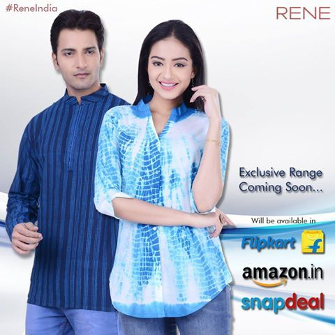 We are happy to announce! Our exclusive ranges will be available soon! Keep following our page as we will post our latest collection of apparels.  #Apparels #Garments #Men #Women #Rene #ReneIndia
