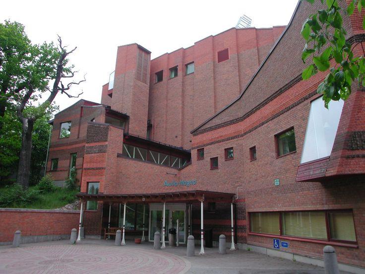 STOCKHOLM university Aula Magna Ralph Erskine