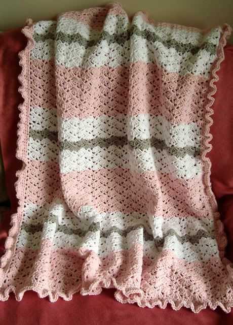 Crochet-Baby-Blanket-Free-Pattern. // I JUST LOVE THIS BLANKET!!! A